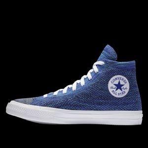 Converse Chuck Taylor Nike Flyknit Blue 9 NEW RARE